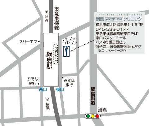 map-tsunashima